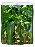 Walking Through The Cornfields Duvet Cover