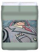Wall Art Hustler Duvet Cover