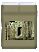 Wall Ta Prohm Duvet Cover by Bob Christopher