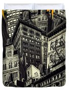 Walls And Towers Duvet Cover