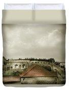 Walls Of Dubrovnik Duvet Cover
