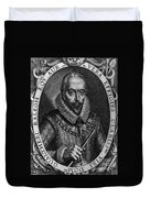 Walter Raleigh, English Courtier Duvet Cover