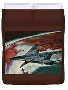 War Bird Duvet Cover