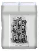 War Of 1812: Generals Duvet Cover