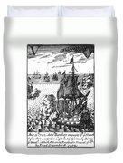 War Of Spanish Succession Duvet Cover