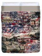 War Wagons    Duvet Cover