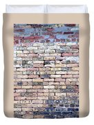 Warehouse Brick Wall Duvet Cover