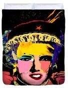 Warhollage 2d Duvet Cover