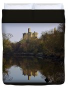 Warkworth Castle Duvet Cover