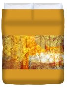 Warm Abstract Duvet Cover