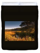 Warm Morning Sun. The Trossachs National Park. Scotland Duvet Cover