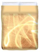 Warm Strings Of Glowing Light Duvet Cover