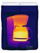 Warming Coffee Machine Duvet Cover