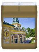 Warsaw Poland - Wilanow Palace Duvet Cover