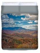 Wasatch Range  Duvet Cover