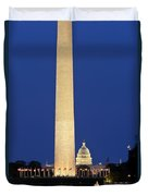Washington Dc Duvet Cover