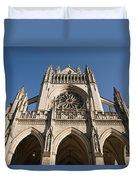 Washington National Cathedral Entrance Duvet Cover
