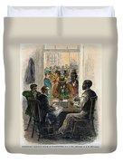 Washington: Voting, 1867 Duvet Cover