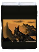 Wastelands Duvet Cover