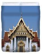 Wat Benchamabophit Ubosot Dthb1239 Duvet Cover
