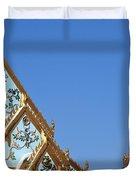Wat Chamni Hatthakan Gables Dthb934 Duvet Cover