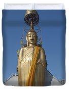 Wat Intarawiharn Phra Luang Phor Toh Standing Buddha Dthb294 Duvet Cover
