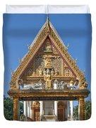Wat Kan Luang Ubosot Gate Dthu181 Duvet Cover