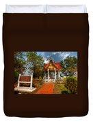 Wat Kham Chanot Duvet Cover