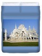 Wat Rong Khun Duvet Cover