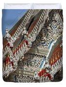 Wat Suan Phlu Ubosot Angel Gable Finials Dthb227 Duvet Cover