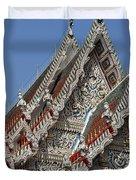Wat Suan Phlu Ubosot Gable Dthb1132 Duvet Cover