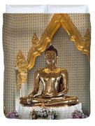 Wat Traimit Golden Buddha Dthb964 Duvet Cover