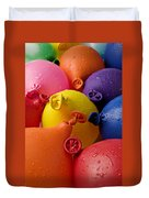 Water Balloons Duvet Cover