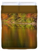 Water Dancers Duvet Cover by Ed Smith