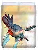 Water Dragon Duvet Cover by Bob Orsillo
