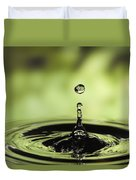 Water Drop And Ripples Duvet Cover