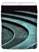 Water Feature - Aqua  Duvet Cover