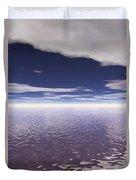 Water Horizon Duvet Cover