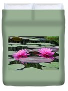 Water Lilies Duvet Cover by Bill Cannon