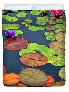 Water Lilies I Duvet Cover
