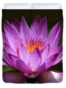 Water Lily Blossom Duvet Cover