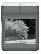 Water Skiing 20 Duvet Cover