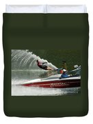 Water Skiing Magic Of Water 26 Duvet Cover