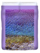 Water Surface  Duvet Cover