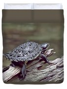 Water Turtle Duvet Cover