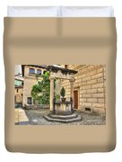 Water Well Duvet Cover