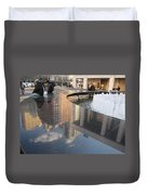 Lincoln Center Reflections Duvet Cover
