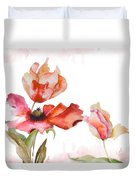 Watercolor Background Duvet Cover