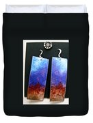 Watercolor Earrings Artists Favorite Duvet Cover