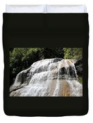 Waterfall At Treman State Park Ny Duvet Cover